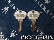 Schlüssel Rohling 2 Rohlinge Blank Key Original Silca Maserati Bora Khamsin