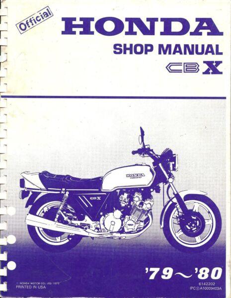 1979-1980 Honda Cbx 1000 Moto Manuale Manutenzione -honda Cbx 1000 Ricco E Magnifico