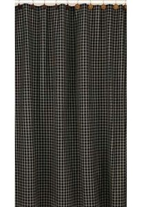 Image Is Loading Sturbridge Black Country Plaid Shower Curtain By Park