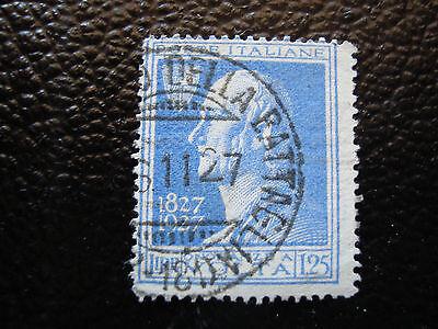 Briefmarke Yvert Und Tellier Nr 199 Gestempelt Italien a11