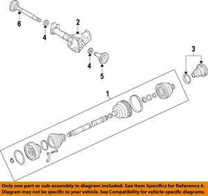 PORSCHE-OEM-11-15-Cayenne-Front-Drive-CV-Shaft-Axle-Assy-95834903812