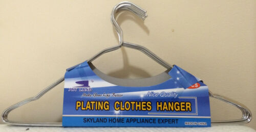 """Lot of 80 PCS 16/""""  Stainless Steel Clothes Coat Jacket  Hangers NEW"""