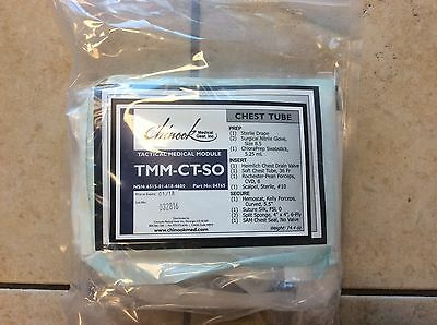 Chinook Medical TMM-CT-SO (Special Operations Chest Tube Kit)
