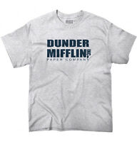 Dunder Mifflin Inc A Paper Company Funny Tv Show Holiday Gift T-shirt Tee