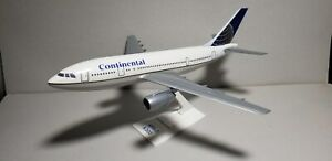 FLIGHT-MINATURE-CONTINENTAL-AIRLINES-NC-A300-1-200-SCALE-PLASTIC-SNAPFIT-MODEL