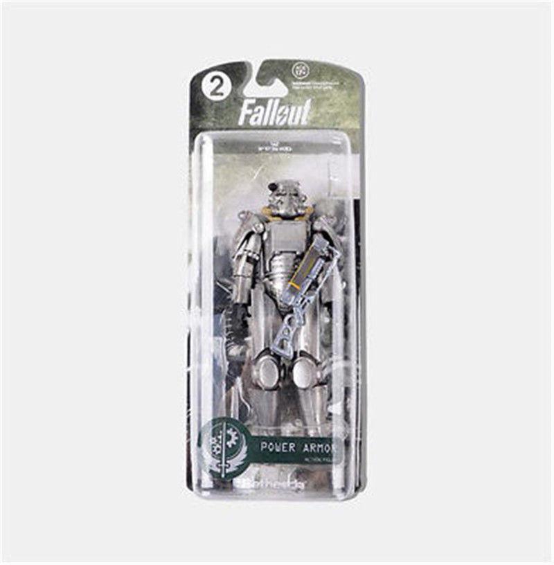 """6/"""" Coleção Jogo Fallout 4 Lone//Armadura Andarilho Power Brinquedo Boneco de ação em PVC"""