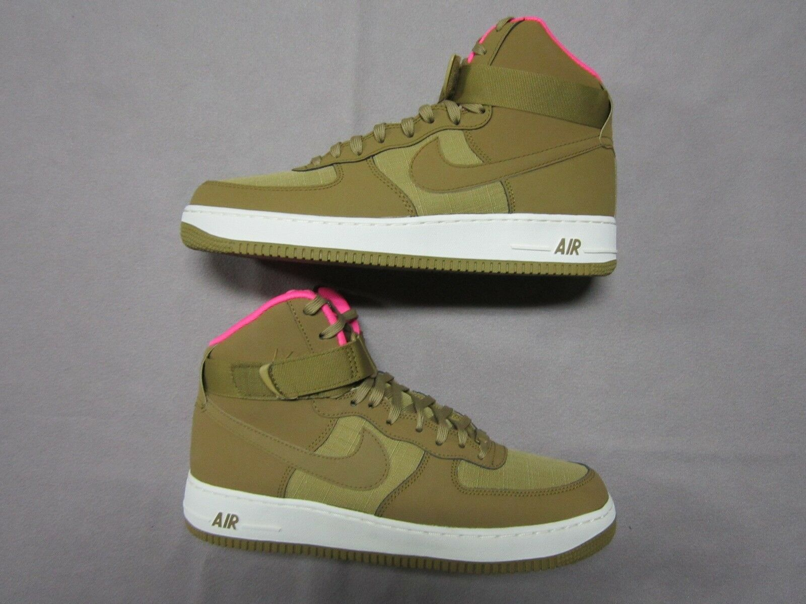 NIKE AIR FORCE 1 PINK '07 GOLDEN TAN WHEAT PINK 1 SNEAKER Chaussures SIZE 11 #315121-204 NEW dc6c3e