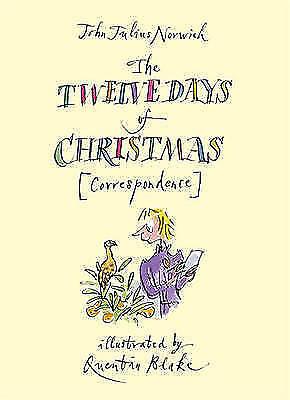 """AS NEW"" Norwich, John Julius, The Twelve Days of Christmas [Correspondence], Ha"