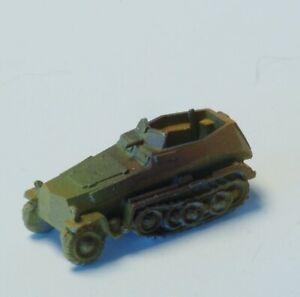 Z-scale-Military-Panzar-car-Old-Era-in-metal-high-detailing