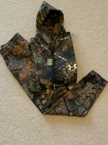 Under Armour Hoodie AND Jogger Pants COMBO Mossy Oak BRAND NEW and ALL SIZES