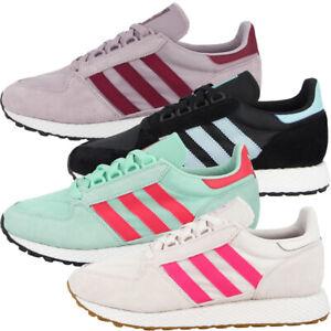 Adidas-Forest-Grove-Women-Sneaker-Damen-Originals-Freizeit-Schuhe-Laufschuhe