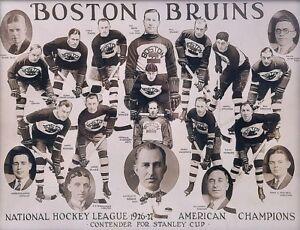 NHL-1926-27-Boston-Bruins-Team-Photo-Black-amp-White-8-X-10-Photo-Picture