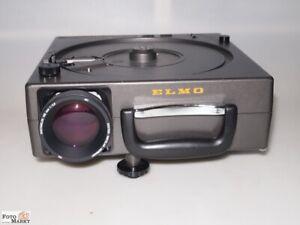 Elmo-253AF-Diaprojektor-250W-Rundmagazin-Kodak-Objektiv-Docter-MC-150-2-8-prof