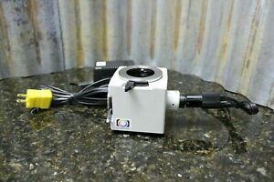 Leitz-Wetzlar-Spot-Illuminator-Microscope-Headpiece-Catalog-051-804-FREE-S-amp-H