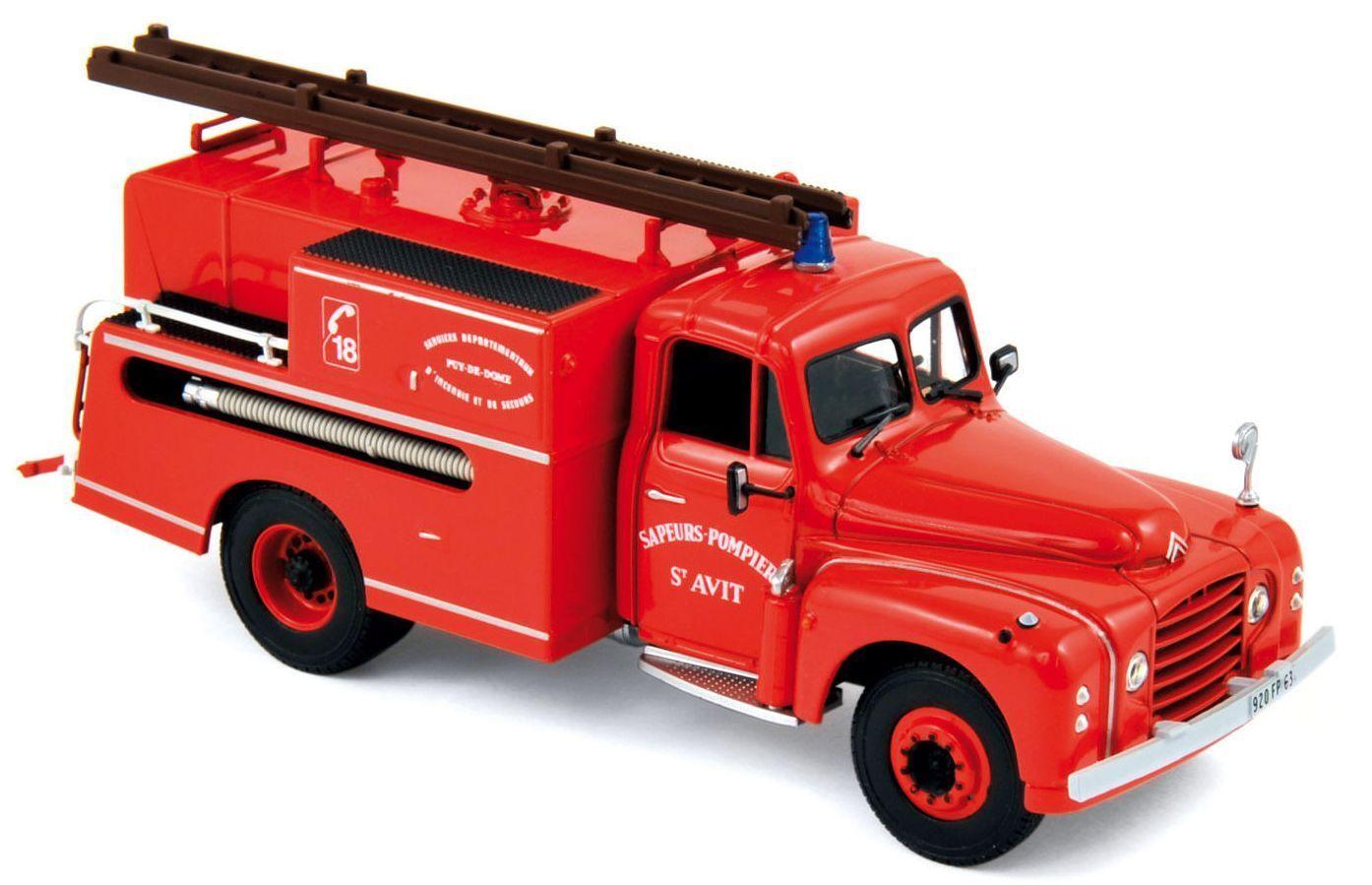 NOREV159988 - CITROEN T46 Pompiers Pompe Guinard Ech 1 43 - 1 43