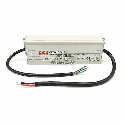 Meanwell CLG-150-12 12V 132W 11A Power Supply UL Listed IP67 Unused