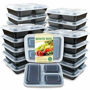 Meal-Prep-Containers-36oz-Lids-Food-Storage-Bento-Box-BPA-Free-Reusable