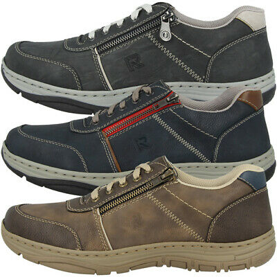 Rieker Antistress Chaussures Hommes Loisirs Chaussures basses Sneaker Chaussure Lacée 16300 | eBay
