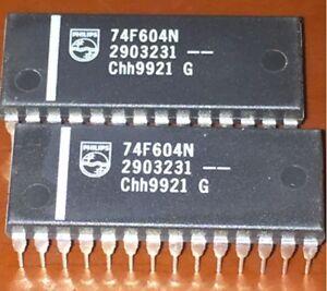 1PCS N74F604N 74F604N Dual octal latch 3-State DIP28