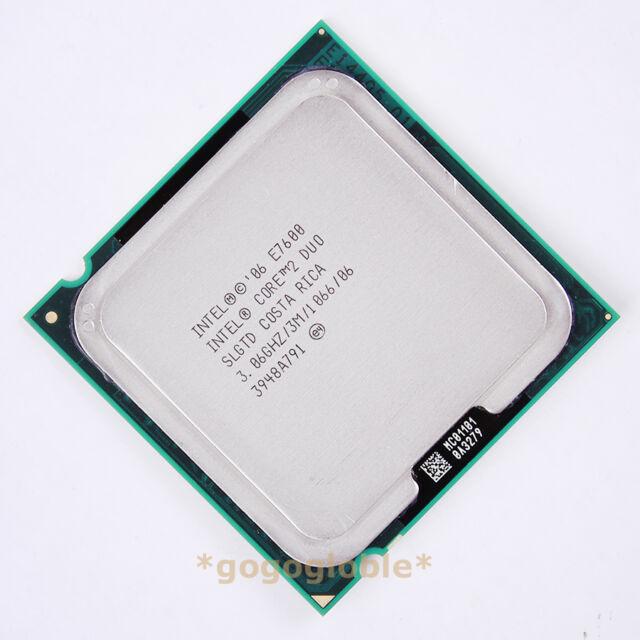 Working Intel Core 2 Duo E7600 3.06 GHz Dual-Core SLGTD SLGTN CPU LGA 775