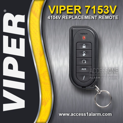 Viper 7153V 1-Way Remote Control Replacement Transmitter For The Viper 4104V
