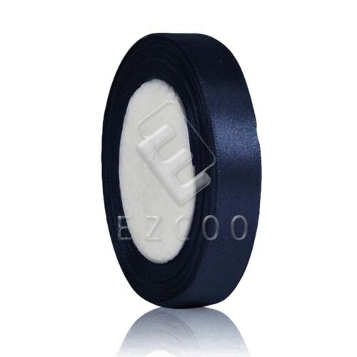 "25 Yards 3//4/""20mm Satin Ribbon Hair Bow Craft Wedding Party Decor DIY HCRN5"