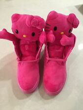 UBIQ exclusive!! Fatima Kitty (Hello Kitty) Pink Sneakers- Brand New- Size US 5