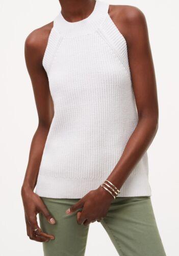 Large Ann Taylor LOFT Halter Sweater Top Size Medium Petite X-Large NWT