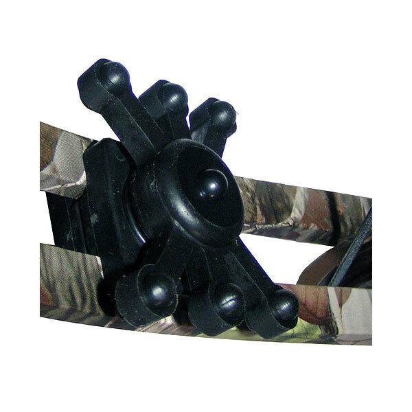 BowJax Magnum Dampener Split Limb Black 2 Pack