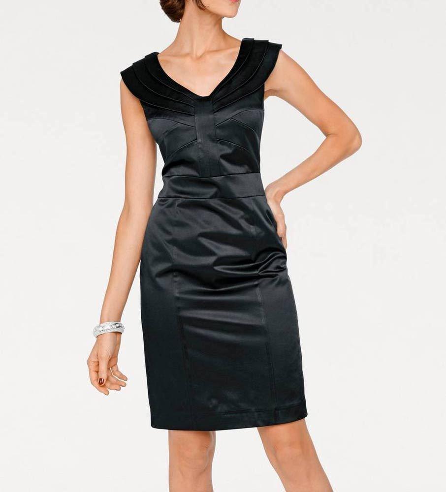 Ashley Brooke Designer Cocktailkleid schwarz Gr 34 bis 46 Abendkleid Kleid