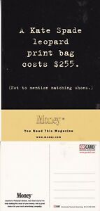 MONEY-FINANCE-MAGAZINE-UNUSED-ADVERTISING-COLOUR-POSTCARD-a