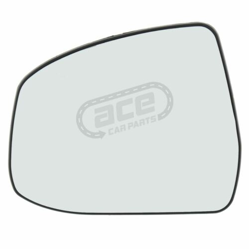 Ford Focus Mk2 Hatchback 2008-6//2011 Heated Convex Mirror Glass Passenger Side