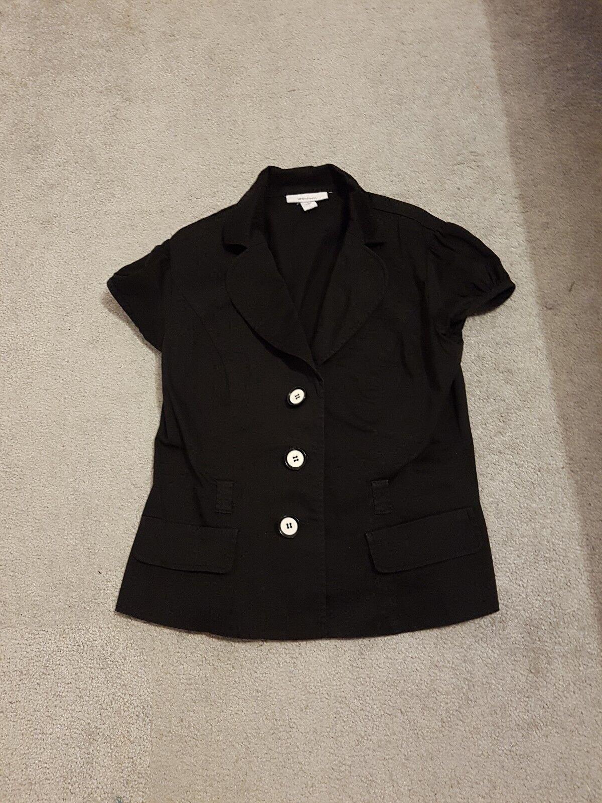 Short Blazer (Dressbarn-USA), Size 8, Black