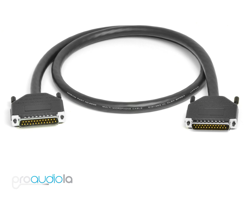 Mogami DB25 Standard Analog Snake | Tascam Pinout D-SUB DSUB | 2 ...