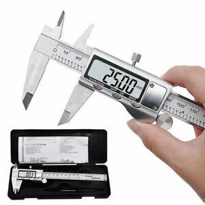 150mm-6-034-Calibro-Digitale-Elettronico-Lega-zinco-Corsoio-Profondita-Misurazione