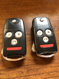 2 Replacement for Acura 2007-2008 TL Remote Car Flip Key Fob Keyless Entry