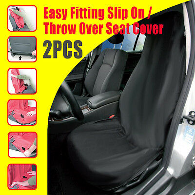 2x CAR FRONT SEAT COVERS PROTECTOR For Ford Focus Hatchback