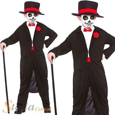 Le jour des morts senor homme marié halloween fancy dress costume