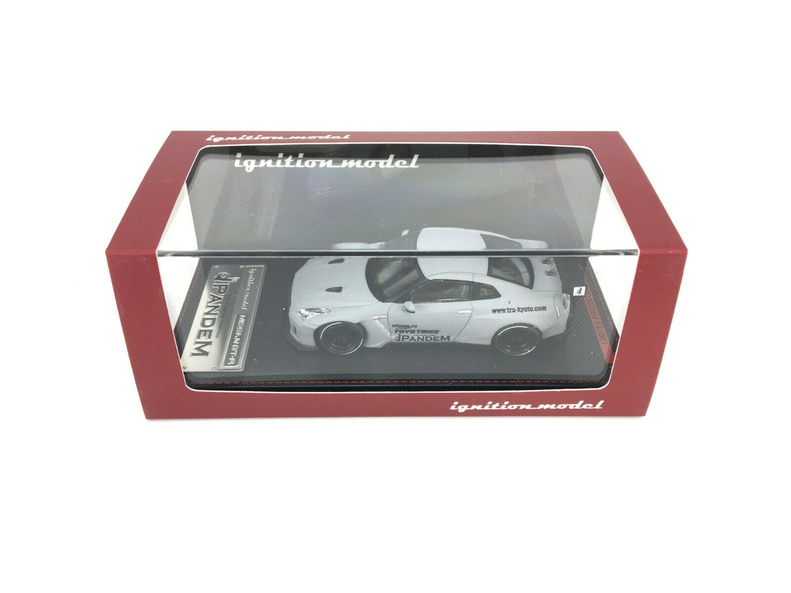 IGNITION Modelll 1 64 IG NISSAN GT-R R35 PANDEM MATTE grau JAPAN Exclusive NEU OVP