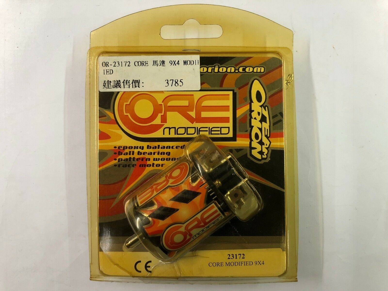 VINTAGE TEAM ORION X4 CORE MODIFIED MOTOR