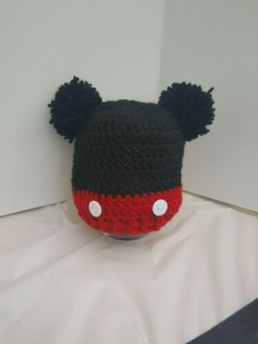 ** New Handmade Crochet Baby Boy Girl Pompom novelty hat Newborn To 7 Years