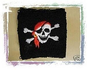 Piraten-Schweissband-Piratenparty-Kindergeburtstag