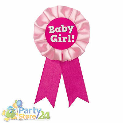 Ansteckorden Baby Girl Junggesellenabschied Geburt Karneval Babyparty Taufe JGA