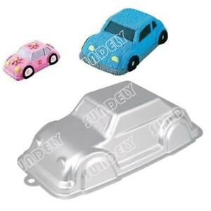 Birthday Cake Car Automobile VW Beetle 3D Decorating Pan Mould Gift