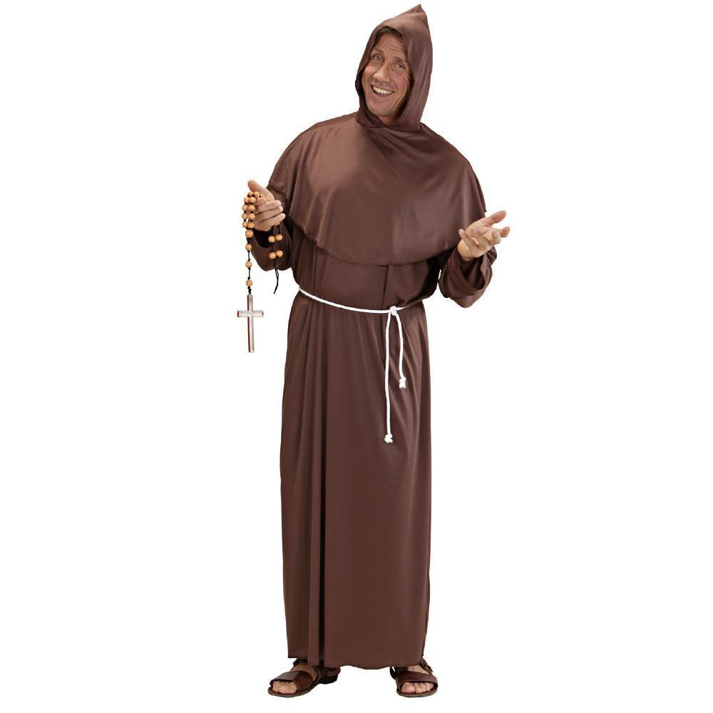 WIDMANN Costume vestito Frate Tg.XL monaco carnevale uomo adulto mod 3106A