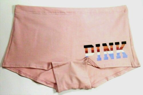 c206 medium NWT Victoria/'s Secret PINK so soft boyshort panty mauve $10.50