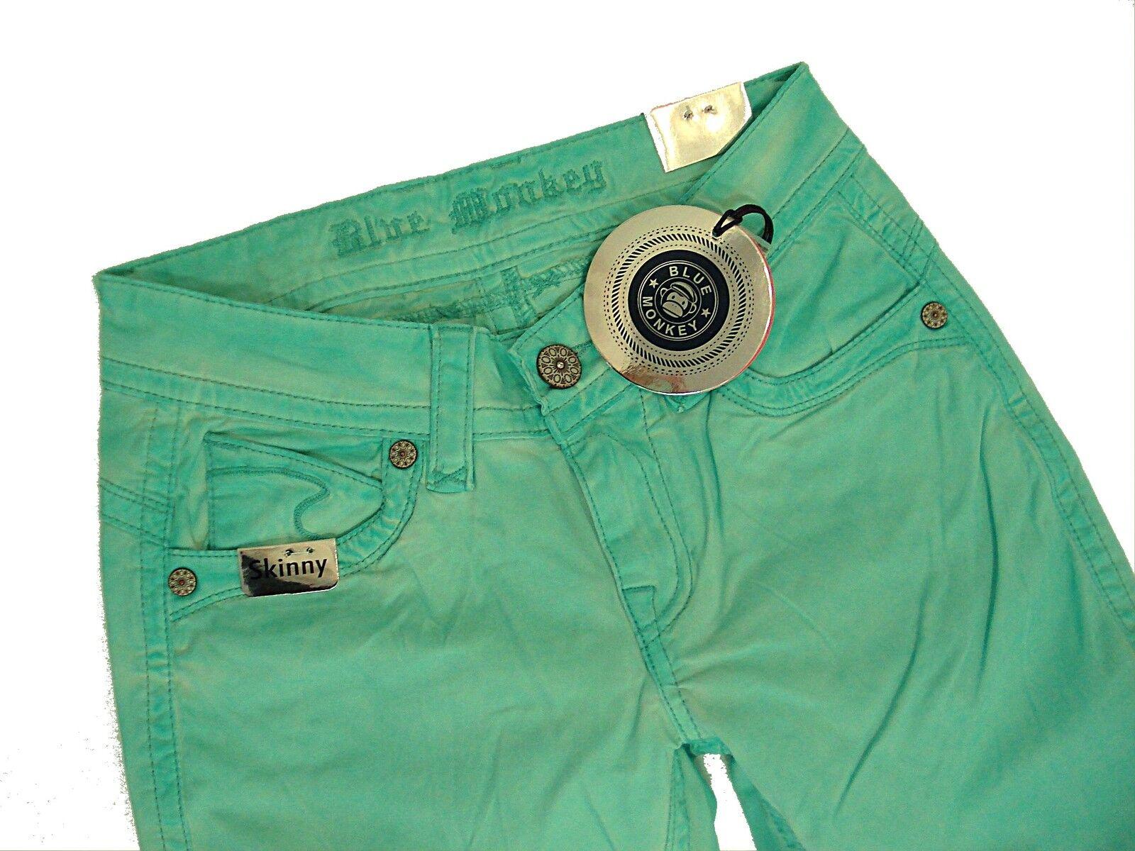 Blau MONKEY  Jeans  LAURA BM3495  Gr. 25 26 27 28 29 30 31  L32   Röhre Skinny