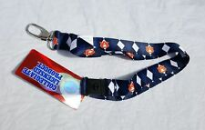 Jenkins Enterprises Auburn Tigers Keychain//Badge Holder Lanyard