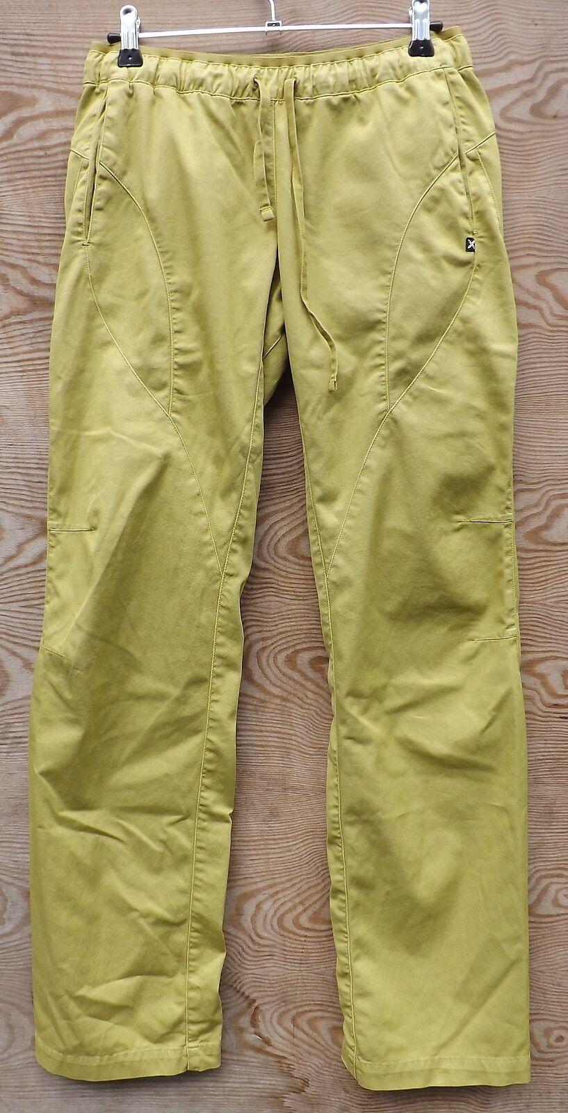 Montura Nevermind Pant damen, Boulder- Kletterhose für Damen, gelb