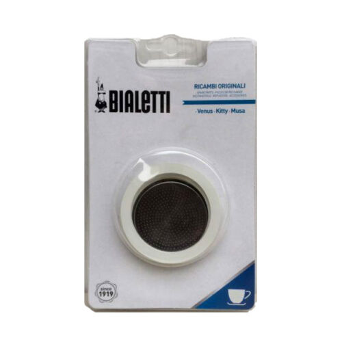 Bialetti Spare Parts 3 Seals Moka Steel 6 Cups venus kitty musa Parts